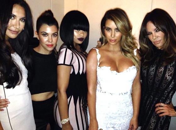 Kim Kardashian Celebrates
