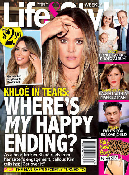 Khloe Kardashian: In Tears!
