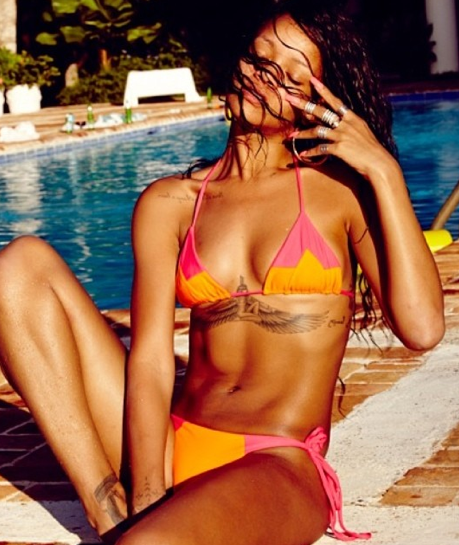 Rihanna Instagram Bikini Photo