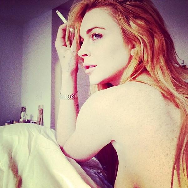 Lindsay Lohan Sideboob