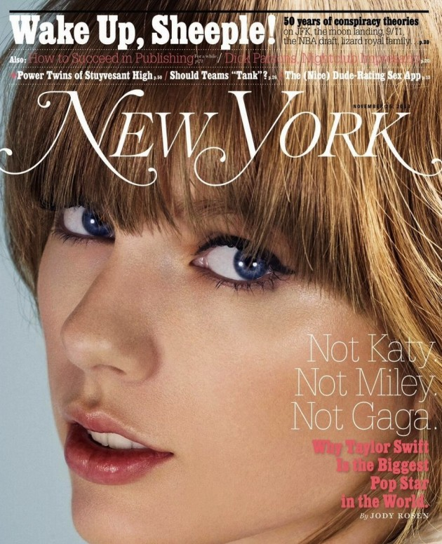 Taylor Swift New York Cover