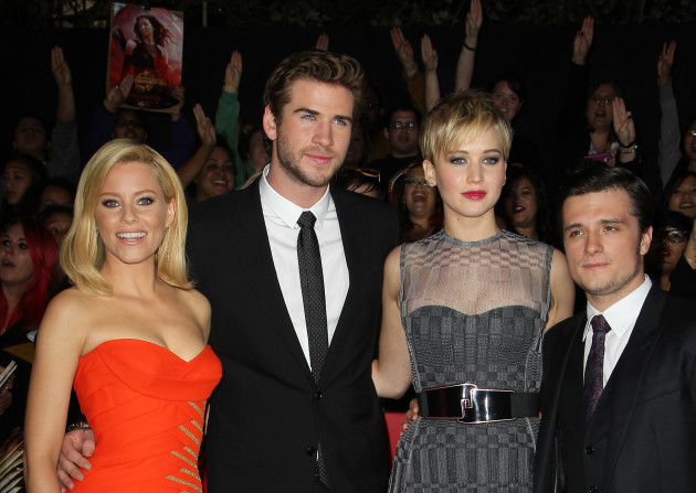 Catching Fire Cast Pic