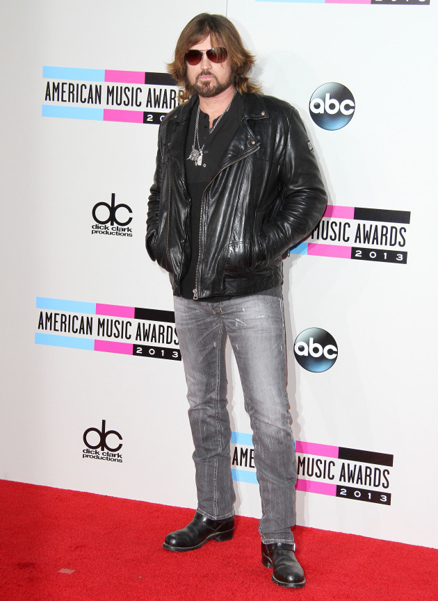 Billy Ray Cyrus at American Music Awards