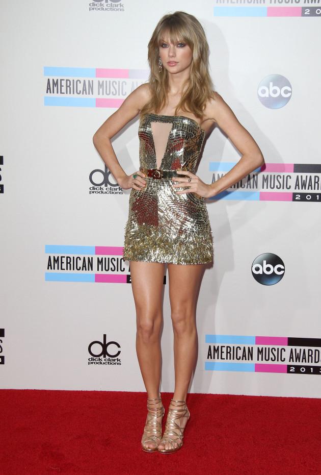 Taylor Swift at American Music Awards