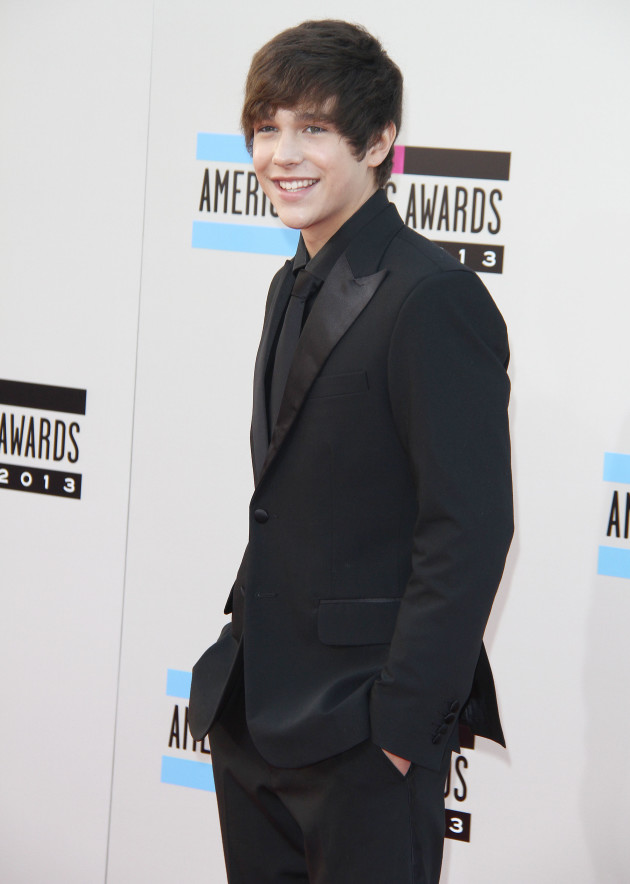 Austin Mahone at American Music Awards