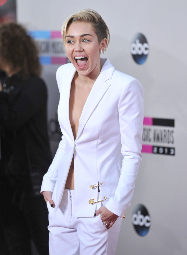 Miley Cyrus at the AMAs