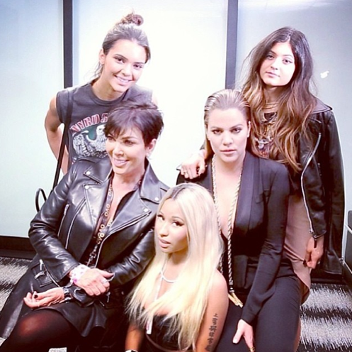 Nicki Minaj and the Kardashians