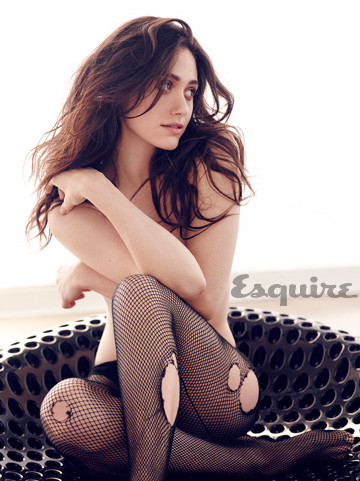 Emmy Rossum Topless Pic