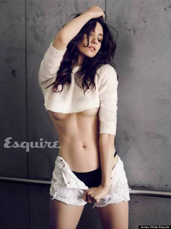 Emmy Rossum in Esquire