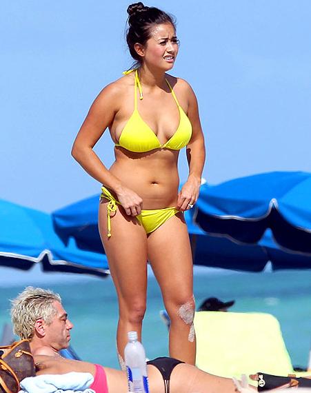 Catherine Giudici Bikini Pic