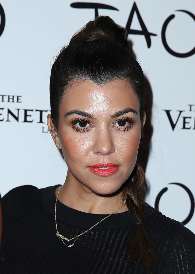 Kourtney Kardashian in Vegas