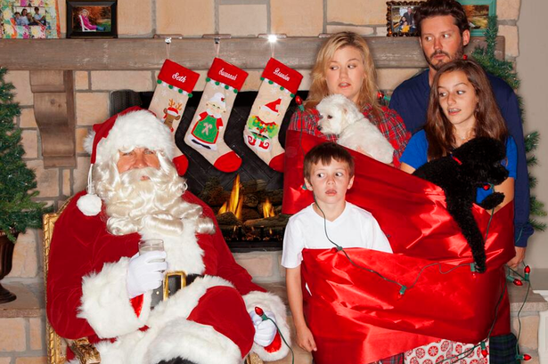 Kelly Clarkson Christmas Card