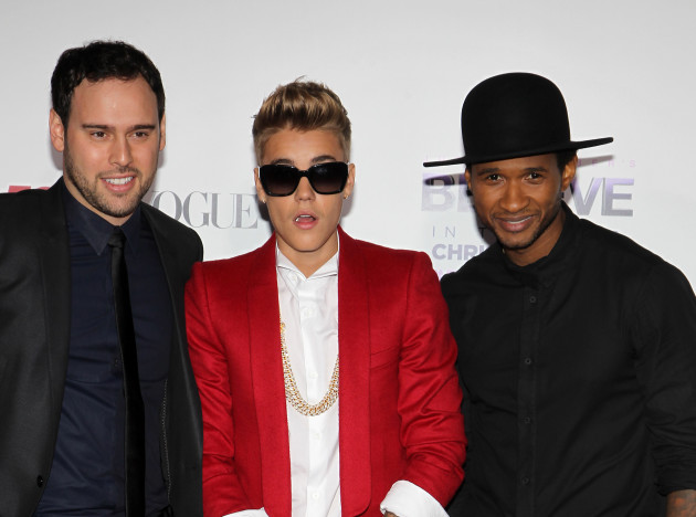 Justin Bieber with Usher