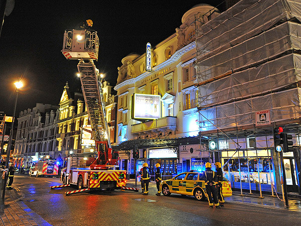 Apollo Theatre Collapses