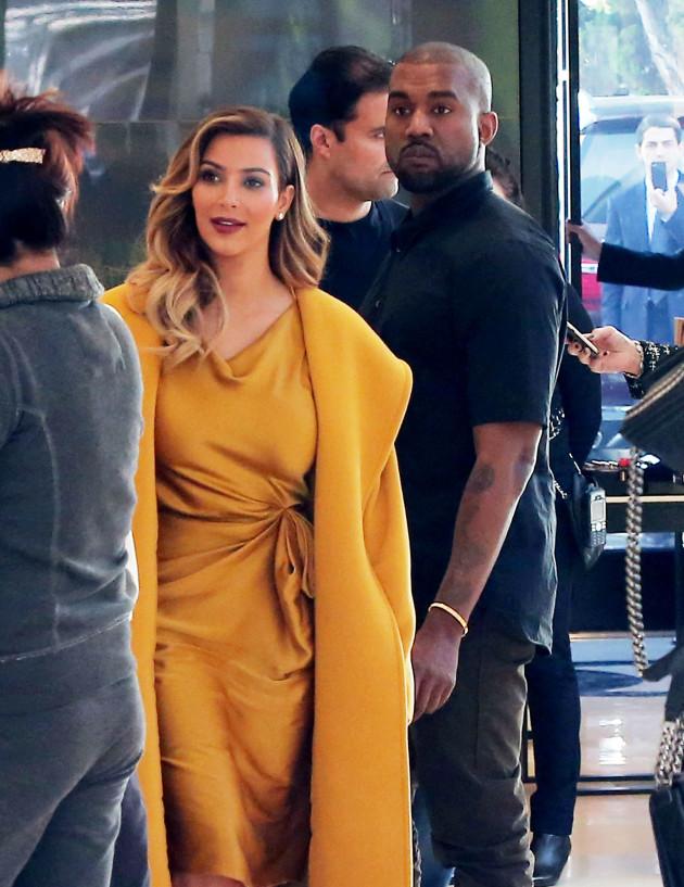 Kim Kardashian and and 'Ye
