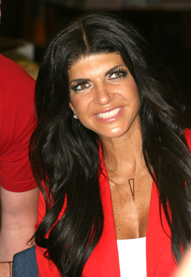 Teresa Giudice at a Book Signing