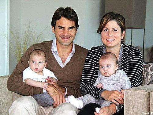 Roger Federer, Family