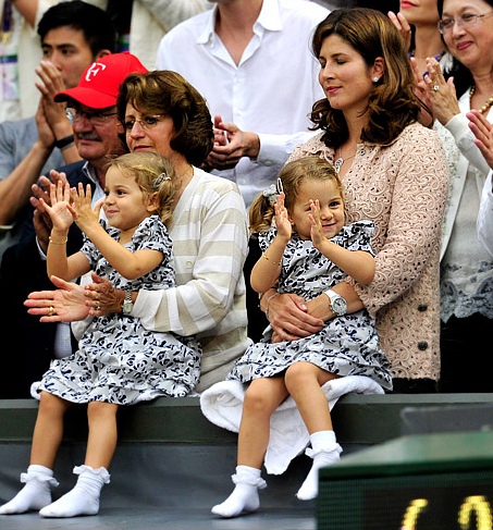 Roger Federer Daughters