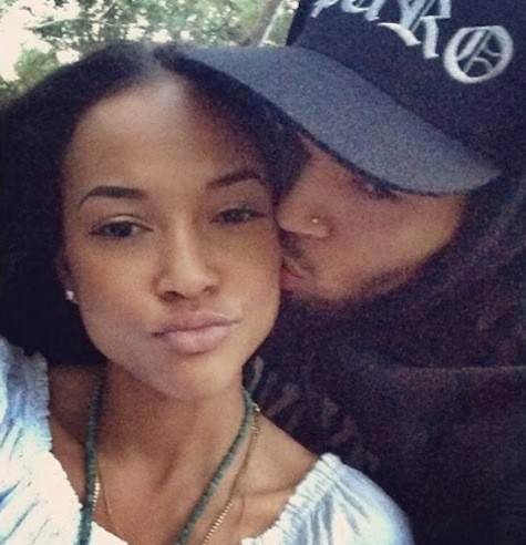 Karrueche Tran, Chris Brown Photograph