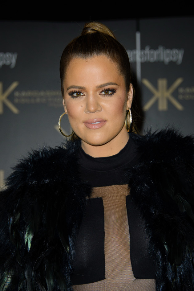 Khloe Kardashian in All Black