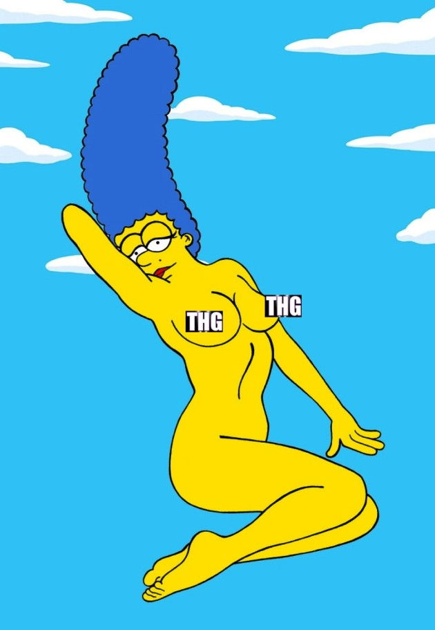 Marge Simpson Nude Photo