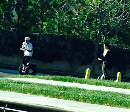 Riding Segways