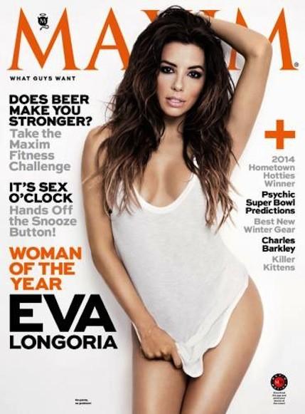 Eva Longoria Maxim Cover