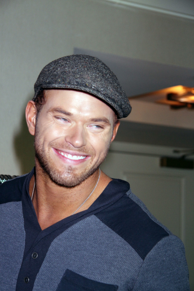Kellan Lutz with a Cap