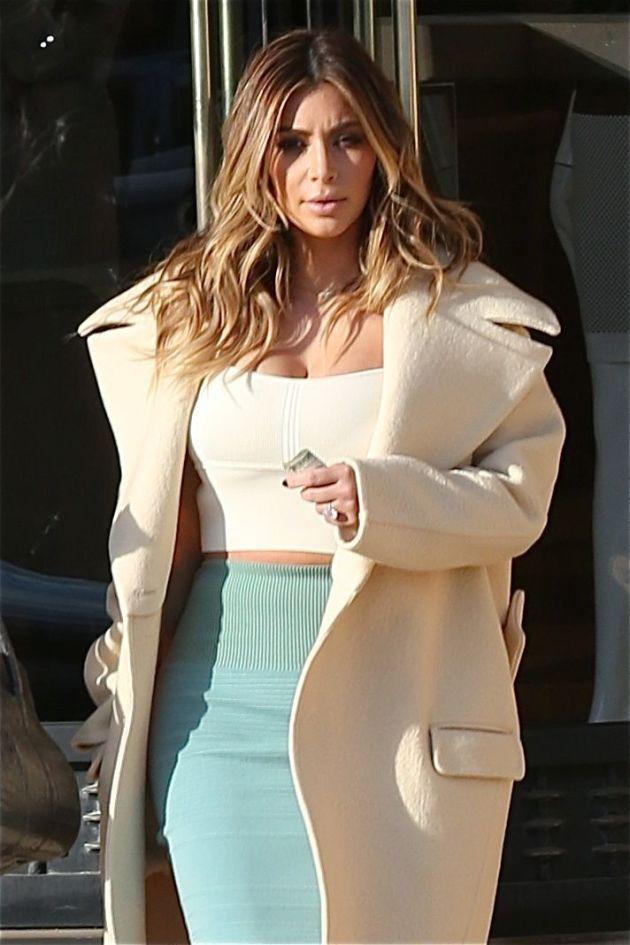 Kim Kardashian, Tight Shirt