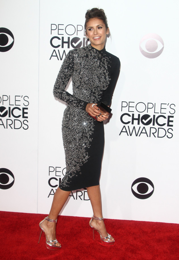 Nina Dobrev at the PCAs