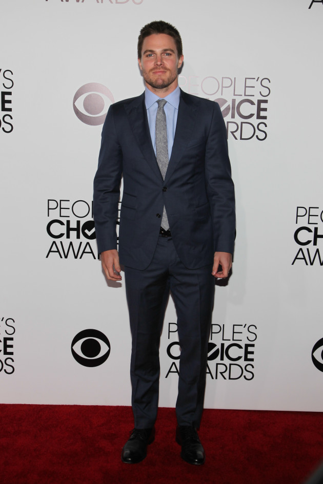 Stephen Amell at the PCAs