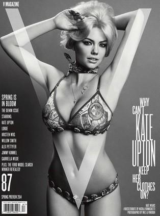 Kate Upton V Cover