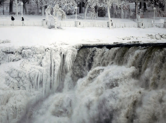 Frozen Niagara Falls Photo