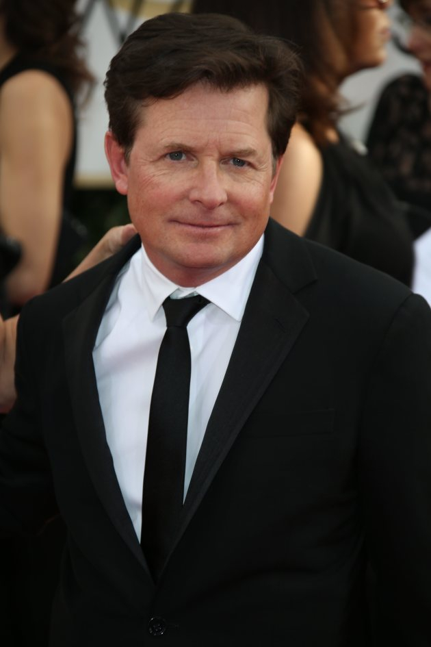 Michael J. Fox at the Golden Globes