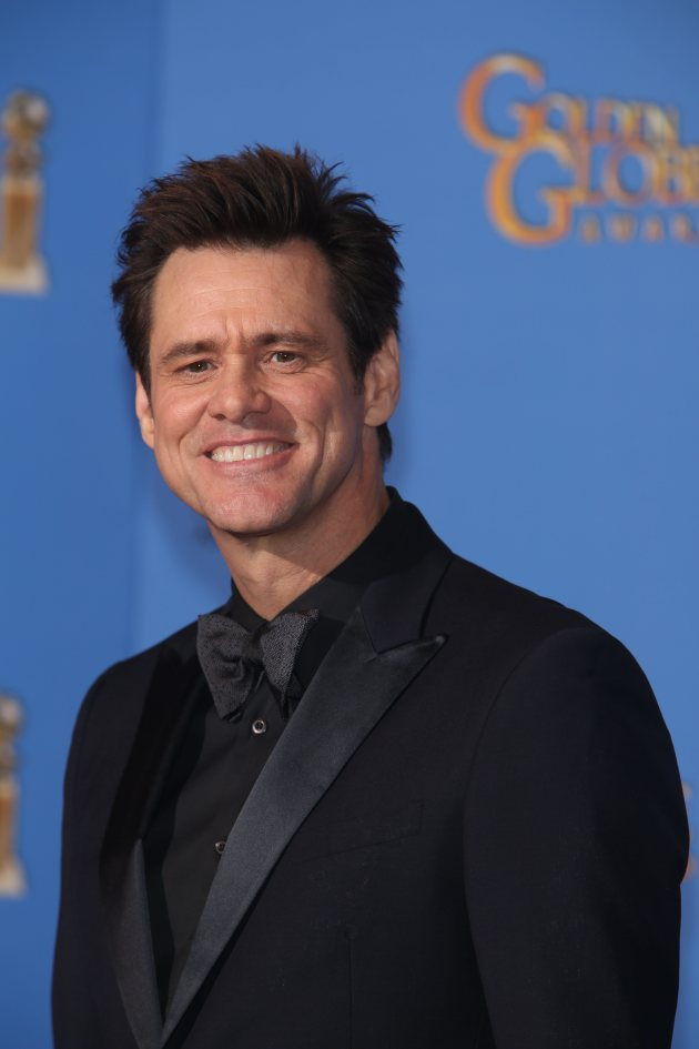 Jim Carrey at 2014 Golden Globes