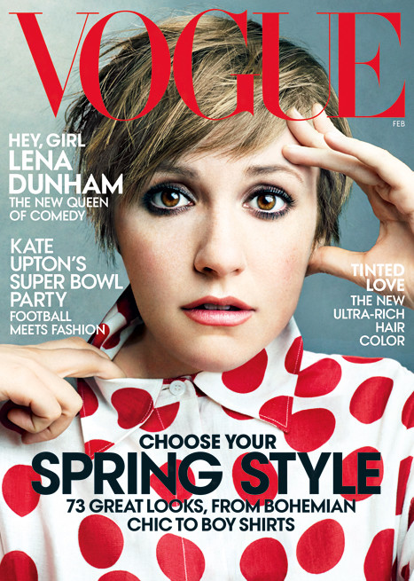 Lena Dunham Vogue Cover