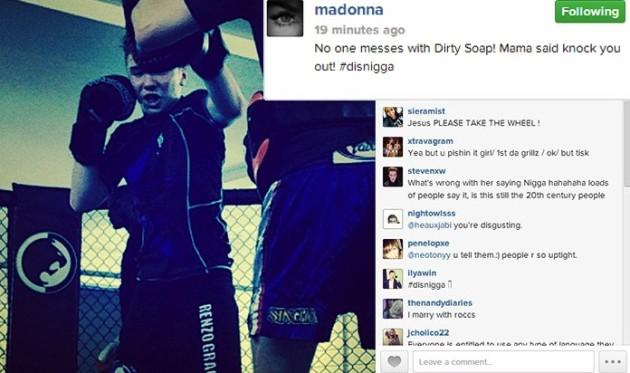 Madonna Instagram Pic