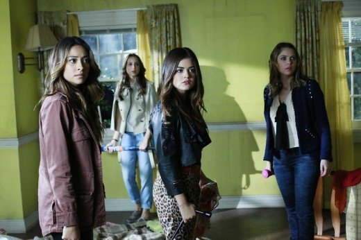 Pretty Little Liars in Shock