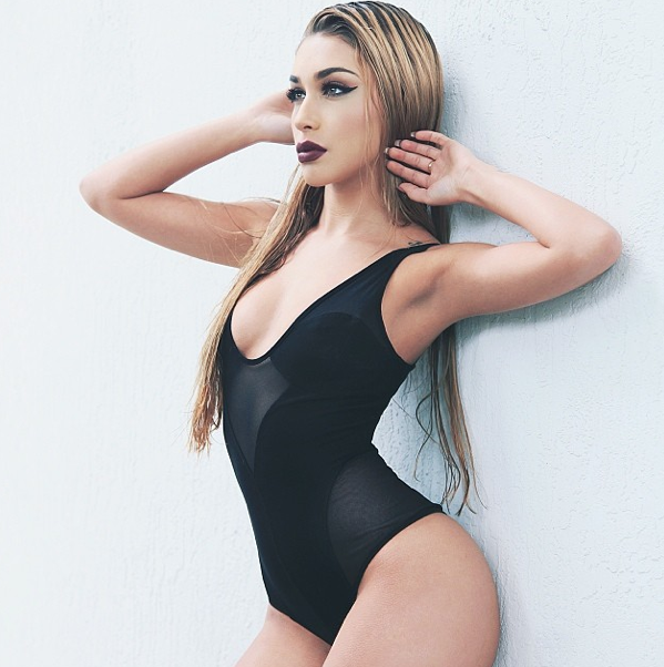 Chantel Jeffries in a Bathing Suit