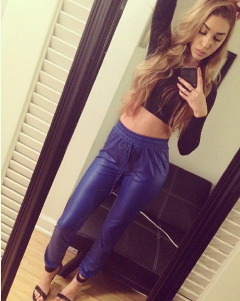 Chantel Jeffries Selfie