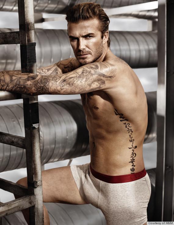 David Beckham H&M Underwear Photo