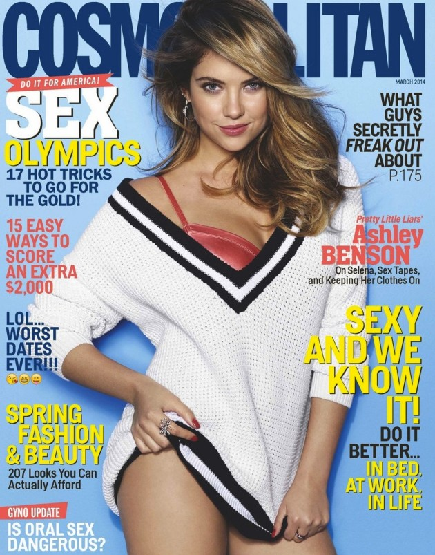 Ashley Benson Cosmopolitan Cover