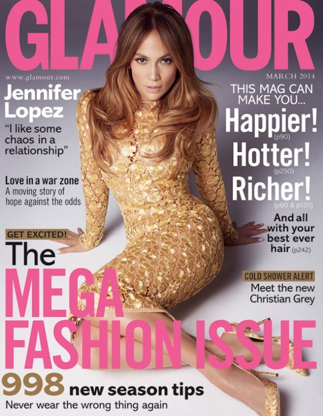 Jennifer Lopez Glamour UK