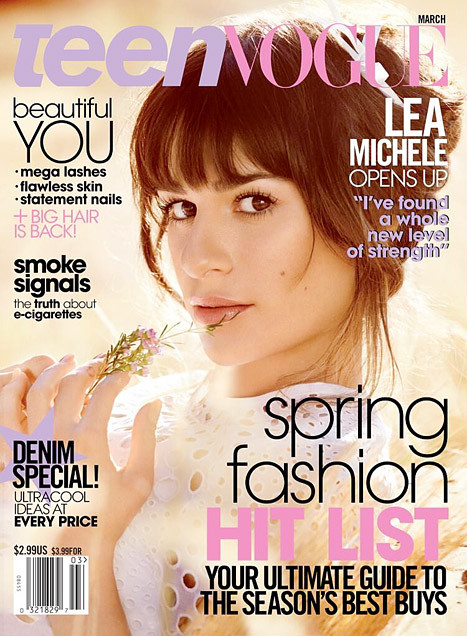 Lea Michele Teen Vogue Cover