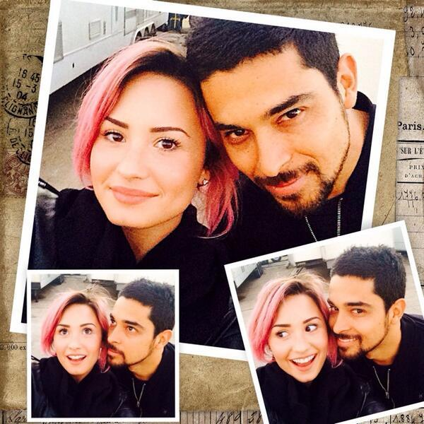 Demi and Wilmer Collage