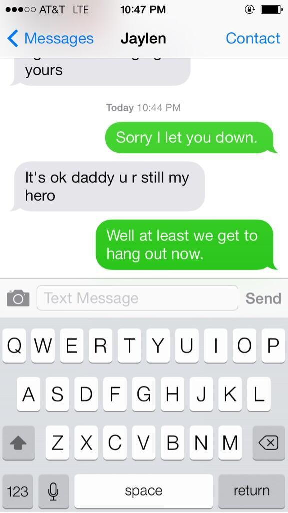 Shaun Phillips Text Exchange