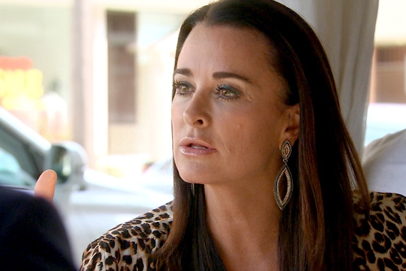 Kyle Richards on The Real Housewives of Beverly Hills