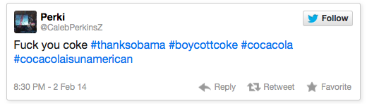 #BoycottCoke