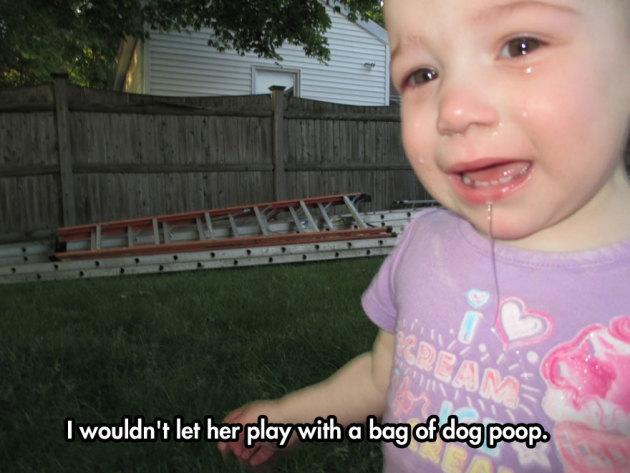 Poop as a Toy