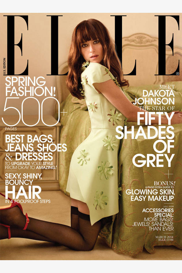 Dakota Johnson Elle Cover